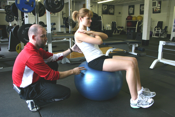 Swiss Ball Core Training