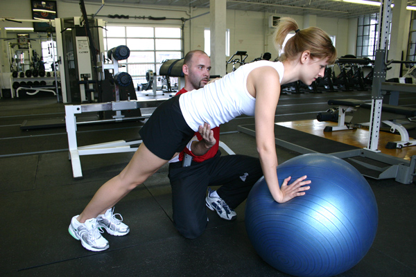 Swiss Ball Core Training Ashley Ebner