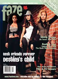 Cover of Faze Magazine Issue 21