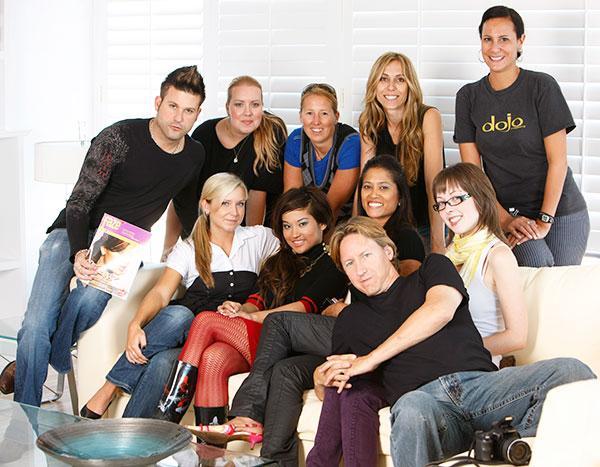 Elise Estrada and the Faze Team