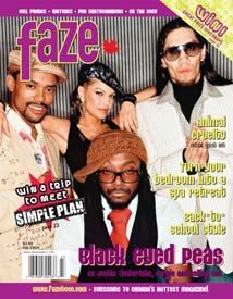 Issue 17 Black Eyed Peas cover
