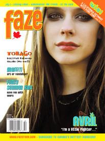 Avril Lavigne Faze Issue 16 cover