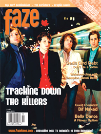Faze Issue 20 The Killers
