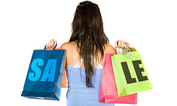 Shopping Girl Sale