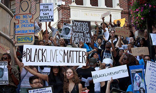 White Girl - Black Lives Matter