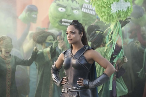 Valkyrie (Tessa Thompson) in Thor: Ragnarok