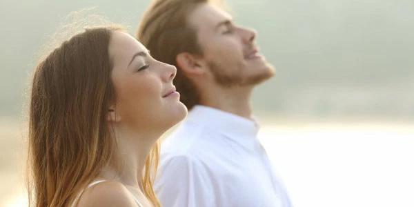 breathe stress relief happy