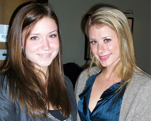 Lo Bosworth The Hills with Dana Krook