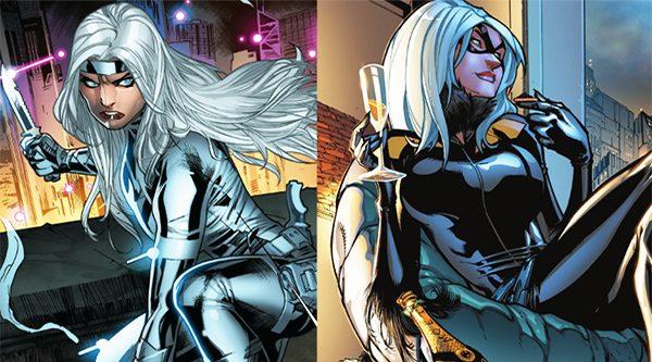 Silver & Black Spiderman