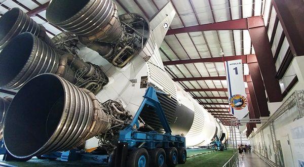 Houston Space Centre Saturn V Rocket