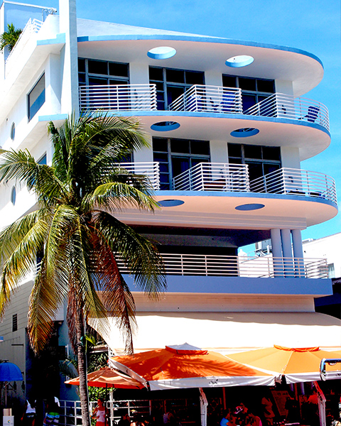 Miami Architecture Art Deco Streamline Nautical