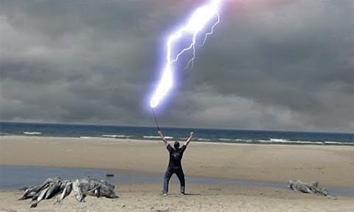 Strange Facts: Lightning Man