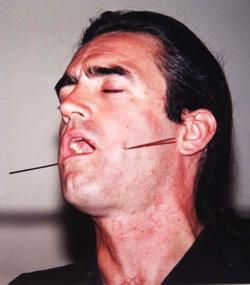 Tim Cridland - The Human Pincushion