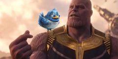 Thanos Snap - Twitter Purge