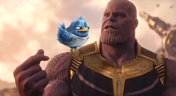 Thanos Snap - Twitter Purge