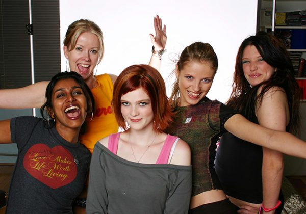Back-to-School Photo Shoot - Surya Bhattacharya, Jayne Rae, Holly Dodson, Ashley Ebner, Berkeley Miller