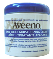 winter skin care - aveeno