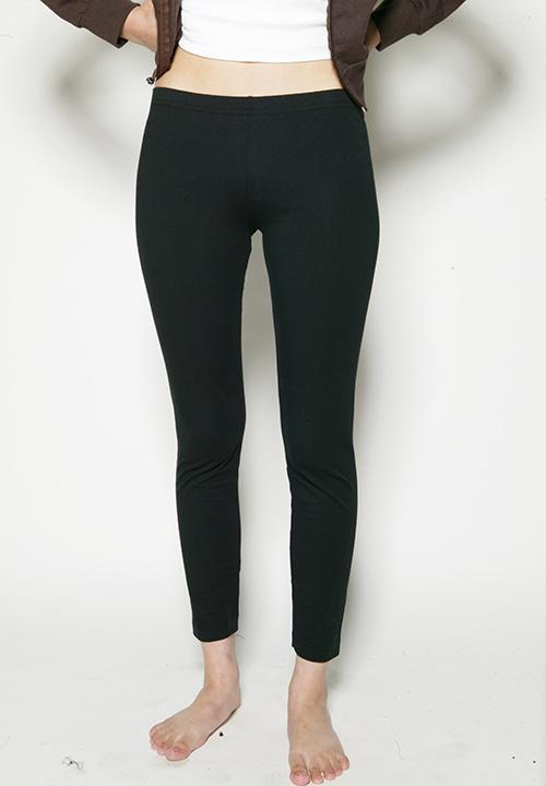 black American Apparel leggings