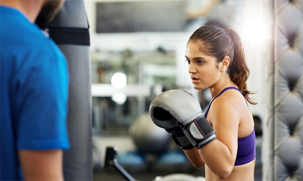 Boxing Workout Girl Benefits Of Boxing