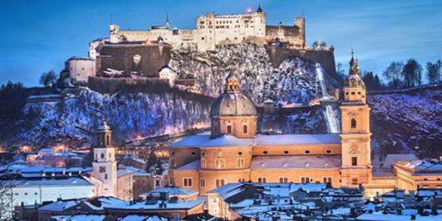 winter trip to europe