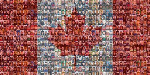 Canadians origins flag