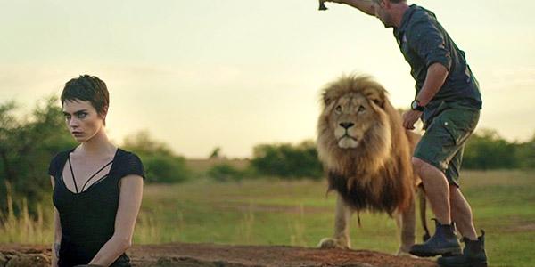 Cara Delevingne Lion Photoshoot Tag Heuer
