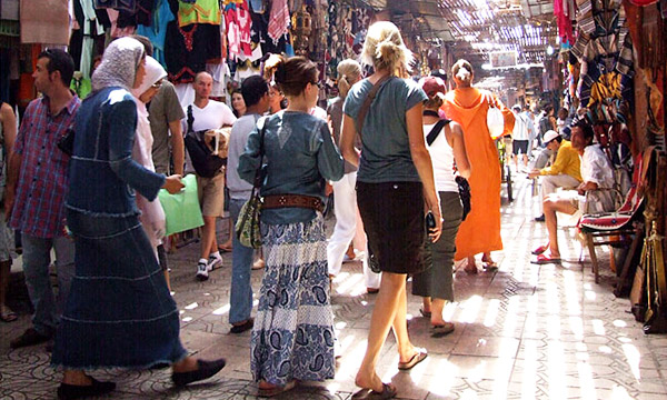 shopping trip morocco