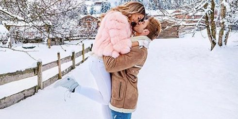 Winter Couple Love New Relationship