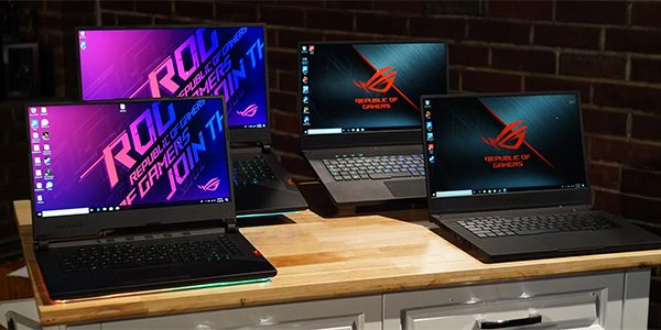 ASUS ROG Gaming Laptops