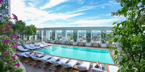 Mondrian Hotel Pool - West Hollywood