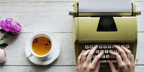 typewriter and tea your blog