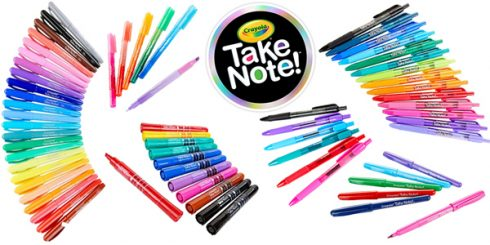 Crayola Take Note Collection
