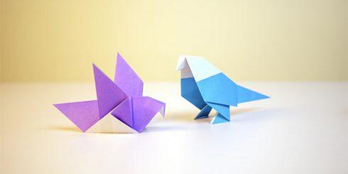Creativity origami