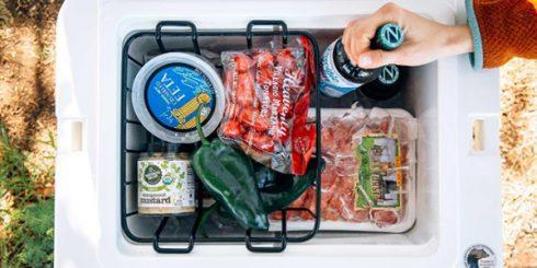 camping picnic keep food fresh cooler