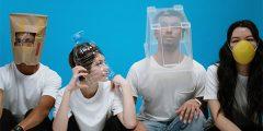 coronavirus masks isolate