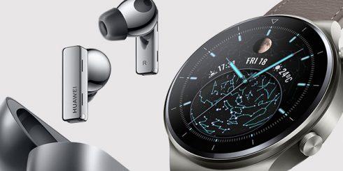 Huawei Canada Wearable Tech FreeBuds Watch GT Pro
