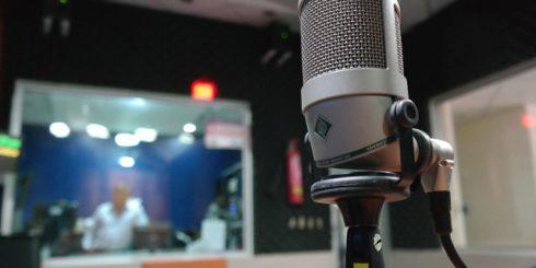 recording studio Neumann microphone