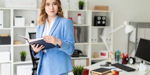 career woman - paycheck